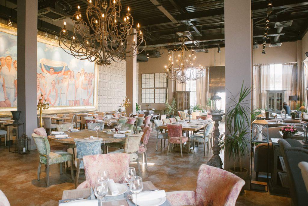 Ресторан «Байкал» в Олимпийском парке Сочи